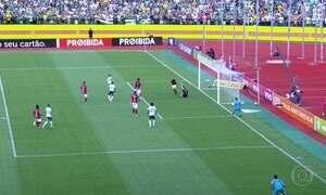 Palmeiras vence Atlético-GO por 3 a 1 em tarde inspirada de Keno