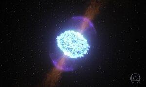 Astrônomos observam um dos eventos mais violentos do universo