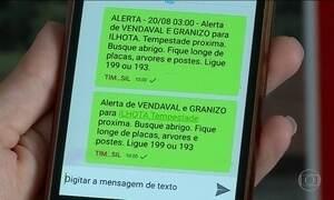 Anatel inaugura em SP serviço de SMS com alertas de emergência