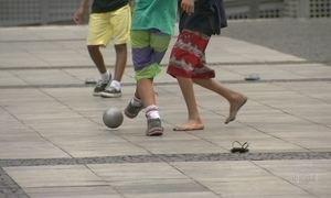 Pesquisa com crianças de rua no centro de SP revela fome e violência