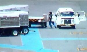 Quadrilha furtava carregamento de celulares em aeroporto de Brasília