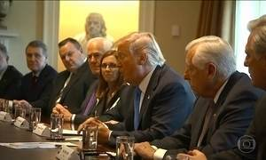 Trump tenta negociar no Congresso reforma na política de imigração