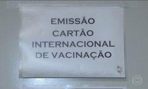 Vacina da febre amarela fracionada não dá certificado internacional