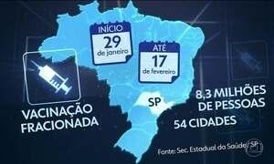 OMS passa a considerar SP área de risco de contágio de febre amarela