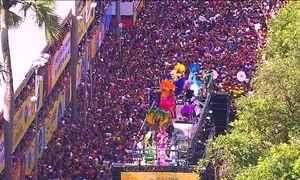 Em Salvador, o circuito do Campo Grande aproxima artistas e foliões