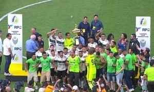 Coritiba vence o Rio Branco-PR e é campeão da Taça Dionísio Filho