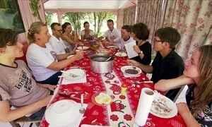 Família de agricultores de SC produz quase tudo o que consome