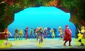 Conheça cenários do musical 'A Pequena Sereia' por vários ângulos