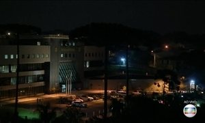 Em Curitiba, Lula vai de helicóptero do aeroporto para a sede da PF