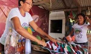 Mulheres fortalecem seus trabalhos em agricultura e artesanato