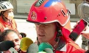 'Não há mais possibilidade de vida humana em escombros', diz bombeiro