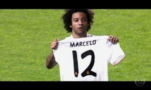 Avô de Marcelo foi quem percebeu talento do neto para o futebol