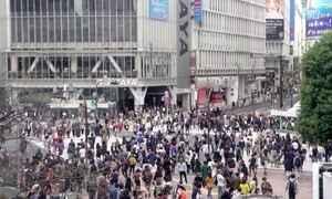 Maior e mais movimentado cruzamento do mundo fica em Tóquio