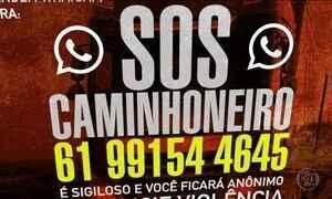Governo cria SOS Caminhoneiro com telefone para denúncias de violência