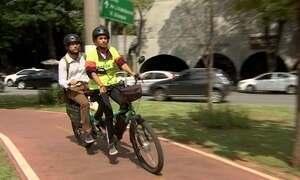 Startups criam estação de serviço para bikes e táxi sobre duas rodas