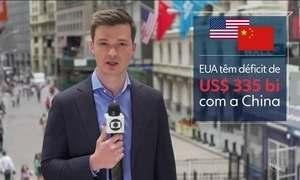 Trump anuncia US$ 50 bilhões em tarifas contra produtos chineses