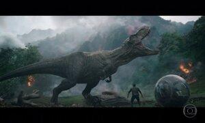 'Jurassic World: Reino Ameaçado' traz personagens de outros dois filmes