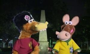 Cavalinhos da Copa vão parar na Praça Vermelha... Mas em Natal (RN)!