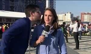 Repórter da Globo é mais uma das vítimas de assédio na Rússia