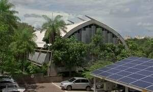 Arquitetos criam prédio sustentável inspirado em ocas indígenas