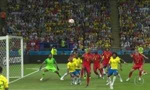 Com Tite, nunca a seleção havia sofrido dois gols na mesma partida