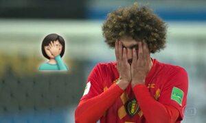 Jogo Bélgica x França teve tantas emoções que até inspirou emojis