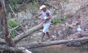 Pontes de madeira precárias são risco na zona rural de Mato Grosso