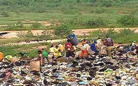 Volume de lixo cresce bem mais que a população
