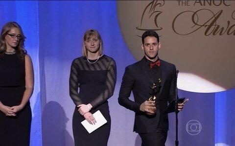 Thiago Pereira é eleito o melhor atleta  masculino das Américas de 2015