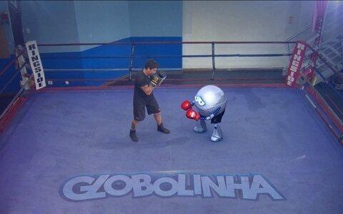 Dupla explica as regras do boxe olímpico
