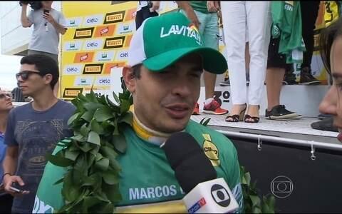 """Marcos Gomes, sobre título na Stock Car: """"Foi sofrido"""""""