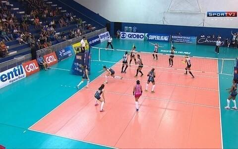 Veja pontos finais do jogo da Superliga feminina