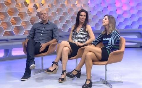 Escobar, Glenda e Cris Dias comentam bom momentos de Neymar