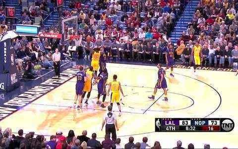 LA Lakers 99 x 96 Pelicans