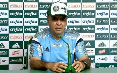 Palmeiras faz treino secreto e Marcelo Oliveira conta que testou time alternativo