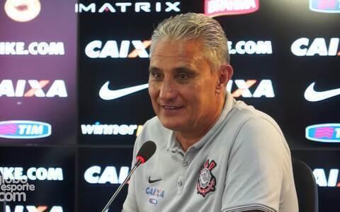 Tite quase confirma o time do Corinthians para o clássico contra o São Paulo