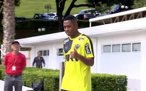 """Robinho chega ao Atlético-MG, treina com o grupo, e adversários falam em """"medo"""" do Galo (Bruno Cantini/Flickr do Atlético-MG)"""