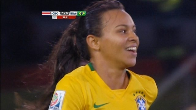 Brasil vence Costa Rica por 1 a 0 na Copa do Mundo do Canadá