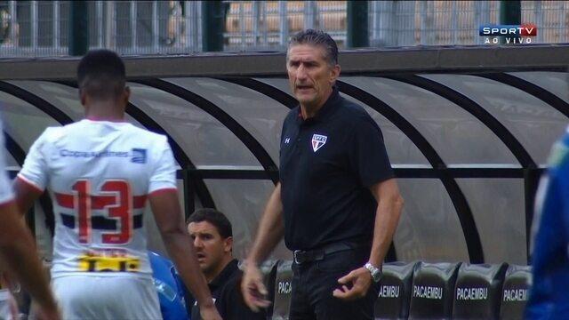 BLOG: São Paulo tem de avançar com um pé nas costas