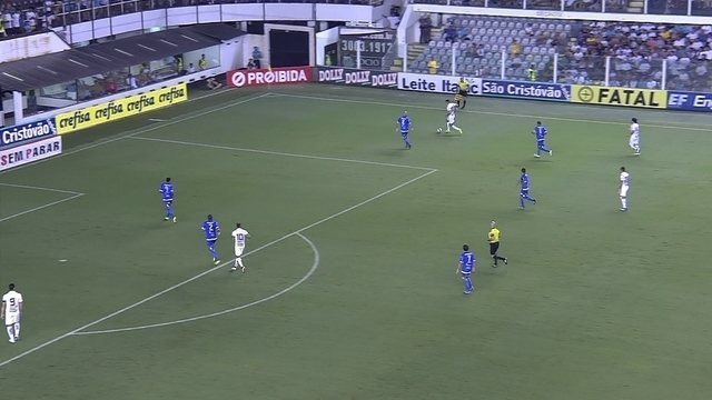 Os gols de Santos 2 x 0 São Bento pelo Campeonato Paulista