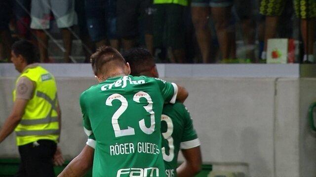 Os gols de Palmeiras 2 x 0 São Bernardo pelas quartas de final do Paulistão 2016