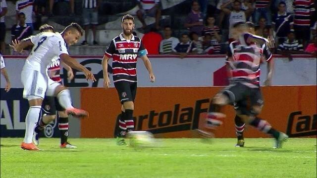 BLOG: Santa Cruz 0 x 3 Ponte Preta - Tricolor já dá sinais de desespero diante da crise