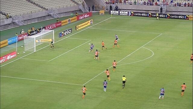 Os gols de Fortaleza 4 x 1 América-MG, pela Copa do Brasil