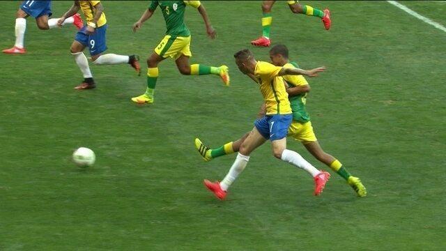 """Os """" garranchos """" mais estranhos do futebol na Olimpíada Rio 2016"""
