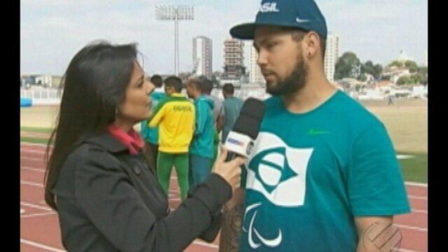 Alan Fonteles representa o Pará na Paralimpíada