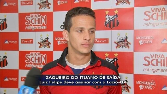 Zagueiro Luiz Felipe, do Ituano, deve ir para a Lazio
