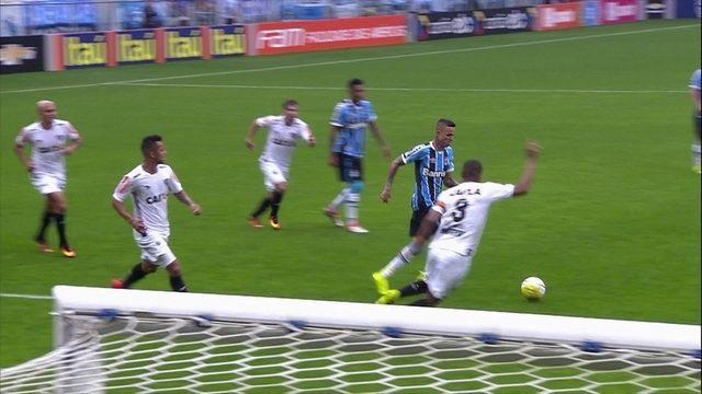 Melhores momentos Grêmio 1 x 1 Atlético-MG pela 22ª rodada do Campeonato Brasileiro
