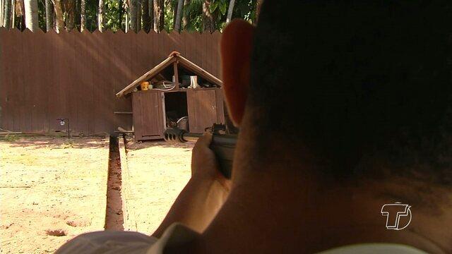 Competição de tiro esportivo é realizada em Santarém