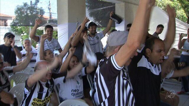 Torcida surda do Ceará dá um exemplo de animação