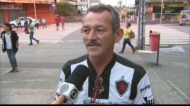 Torcedores do Botafogo-PB vivem expectativa para jogo contra o Palmeiras